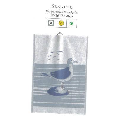 【廃番】エーケルンド Ekelund SEAGULL 35×50cm【キッチンタオル/タペストリー】 【★アウトレット品★】