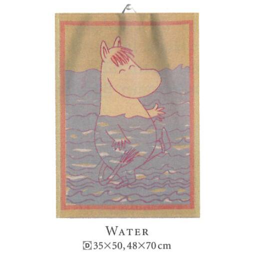 【廃番】エーケルンド Ekelund ムーミン WATER 35×50cm【キッチンタオル/タペストリー】【★アウトレット品★】