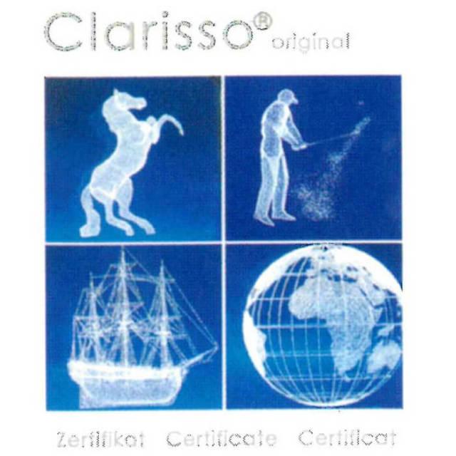 スティーフィル・マイヤー コンテント クラリソ Stiefelmayer Contento Clarisso アーチ型 クリスタルガラス3Dレーザー彫刻置物【アウトレット訳あり特価品】【Z】