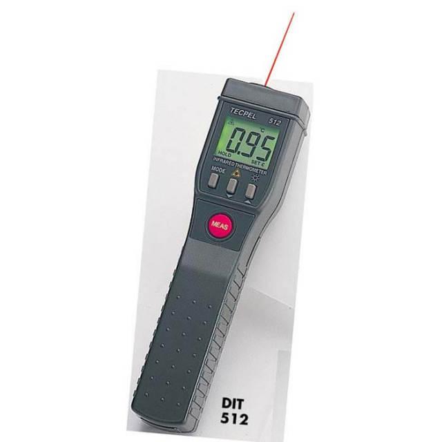 テクペル TECPEL 赤外線温度計DIT_512【送料無料】【動画】