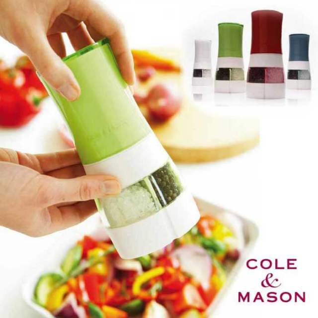 コールアンドメイソン COLE&MASON デュオ ソルト&ペッパーミル 2in1【ダブルミル/ツインミル】