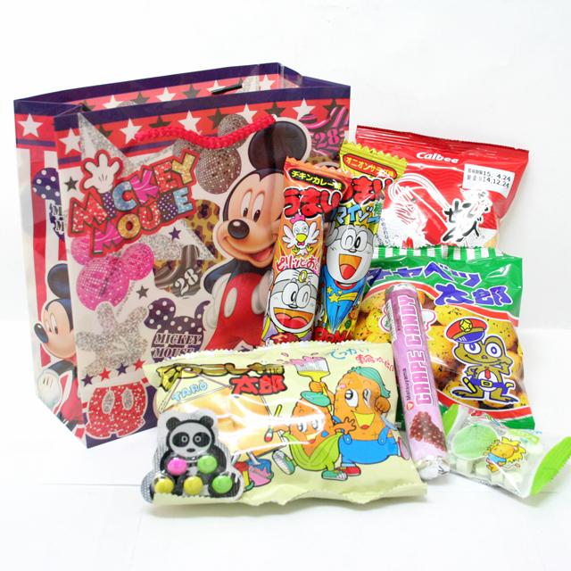 kta-54d 【ディズニー柄】お菓子詰め合せ ランチバッ…