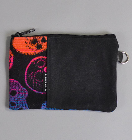 Seamus Golf Pendleton DIÁ DE LOS MUERTOS  Zippered Wax Canvas Pouch