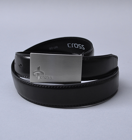 Cross Logo Belt Black