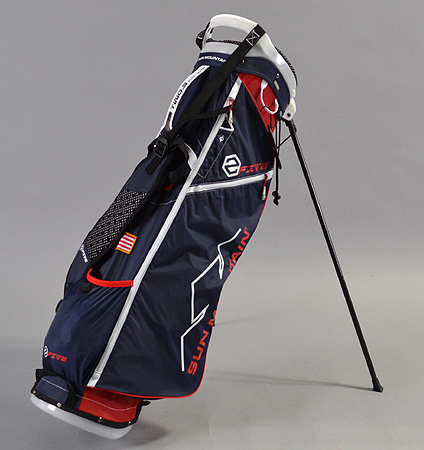 2017 Sun Mountain 2Five Stand Bag Red/Navy/White