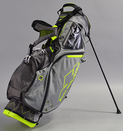 2017 Sun Mountain 4.5 LS Bag Gray/Gunmetal/Flash
