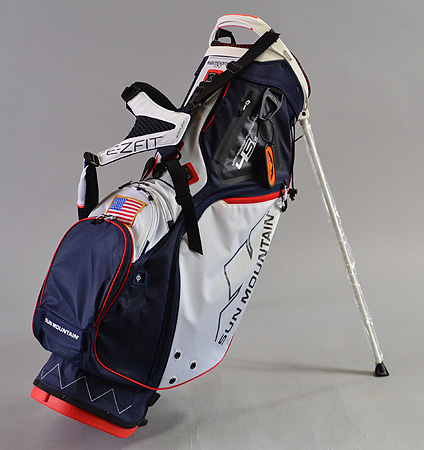 2017 Sun Mountain 4.5 LS Bag Navy/White/Red