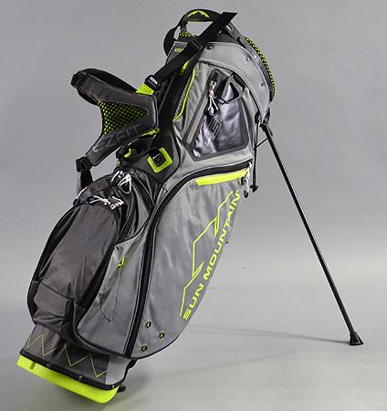 2017 Sun Mountain 4.5 LS 14-WAY Bag Gray/Gunmetal/Flash