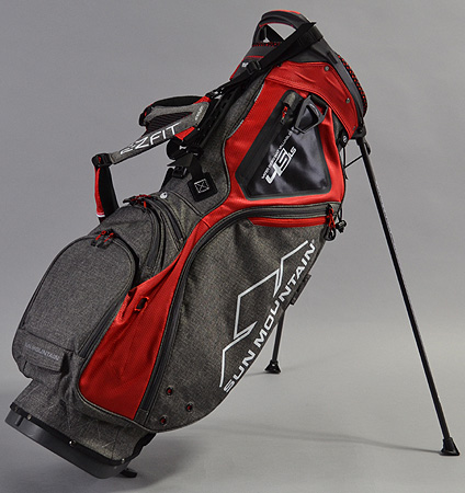 2018 Sun Mountain 4.5 LS Stand Bag Iron/Red