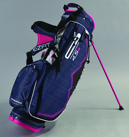 2018 Sun Mountain Women's 4.5 LS Stand Bag Navy/White/Pink