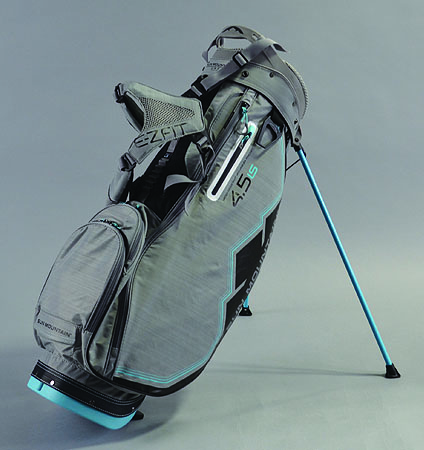 2018 Sun Mountain Women's 4.5 LS Stand Bag Gray/Black/Bahama
