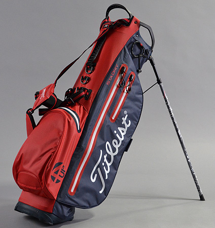 2017 Titleist 4UP StaDry™ Stand Bag Red/Navy