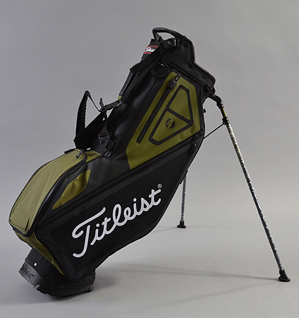 2018 Titleist Players 4 Stand Bag Black/Olive