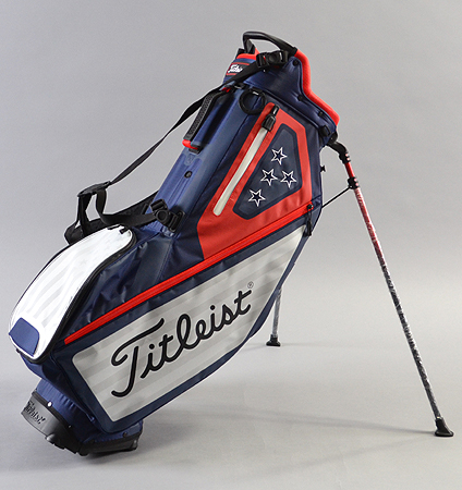 2018 Titleist USA FLAG COLLECTION PLAYERS 4 STAND BAG LIMITED