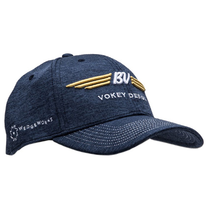 BV Wings Space Dye Cap  Navy