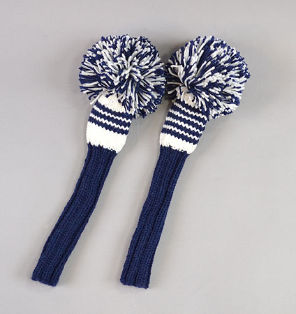 2018 Jan Craig Headcovers Navy/White  Fairway