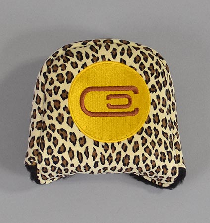 AM&E excors original Large Mallet Putter Cover Suede Cheetah