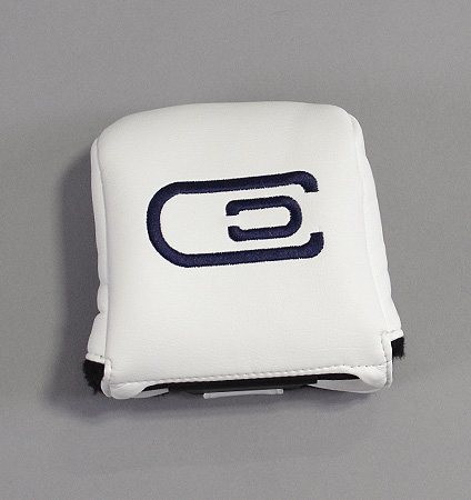 AM&E excors original Universal Large Mallet Putter Cover White/Navy