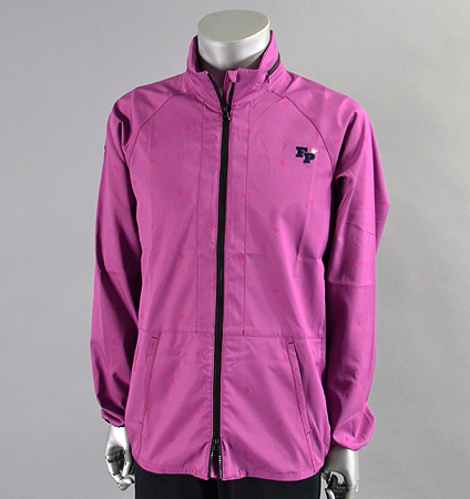 Fairy Powder FP16-5106 Double Zip Hood Jacket Purple