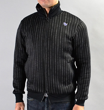 Fairy Powder FP16-5104 Double Zip Jacket Black