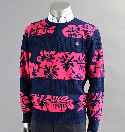 SubSeventy AS10085 Hibiscus Sweater Pink