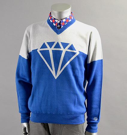 2017 SubSeventy AS11001 Diamond Sweater Blue