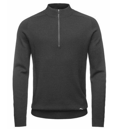 KJUS MEN KULM ENGINEERED HALFZIP PULLOVER Dark Gray
