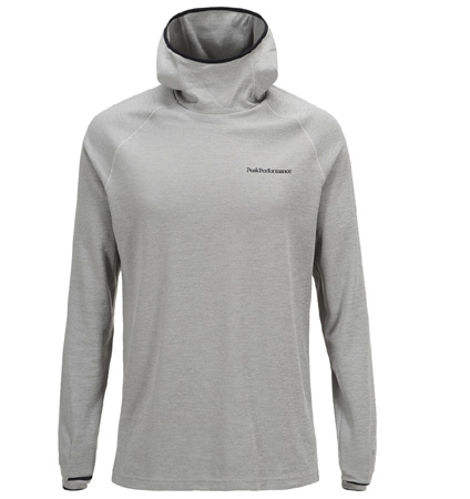 PeakPerformance Power Hood Med Grey Mel