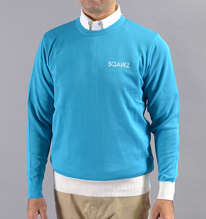 SQAIRZ SQKTB-01 Crew Neck Sweater Blue