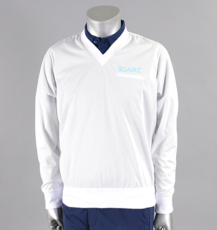 SQAIRZ SQCTB-01 V-Neck Wind White