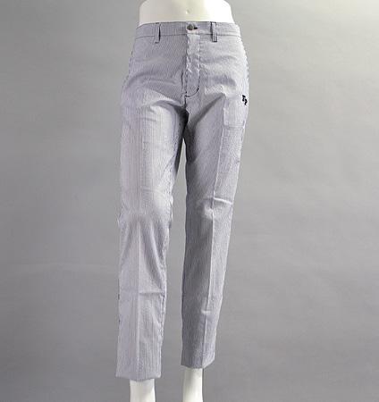 Fairy Powder FP17-1204 Seersucker Pants Navy/White