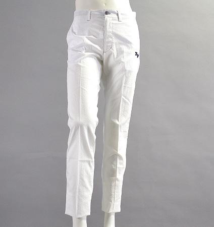 Fairy Powder FP17-1204 Seersucker Pants White