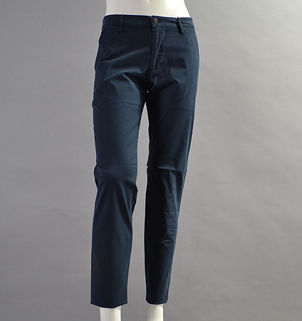 AG Green Label SLIM KHAKI 2  NAVAL BLUE
