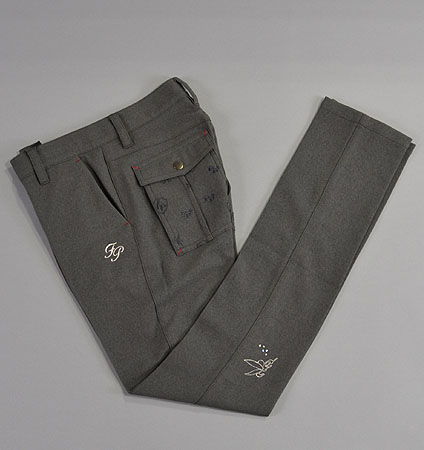 2017 Fairy Powder FP17-6201 Pants Gray