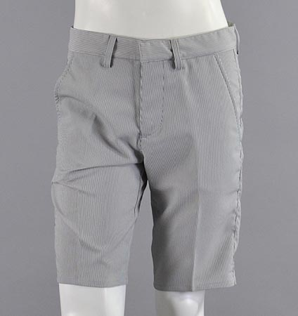 SQAIRZ SQPT-001 Dual Stripe Short Pants Gray