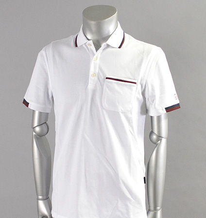 AG Green Label NILS POLO BRIGHT WHITE