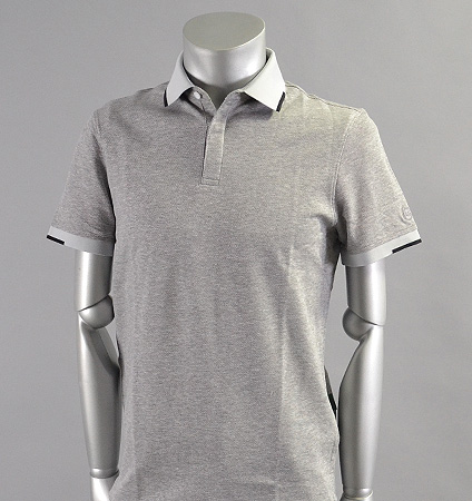 AG Green Label GIBSON POLO HEATHER MORNING GREY