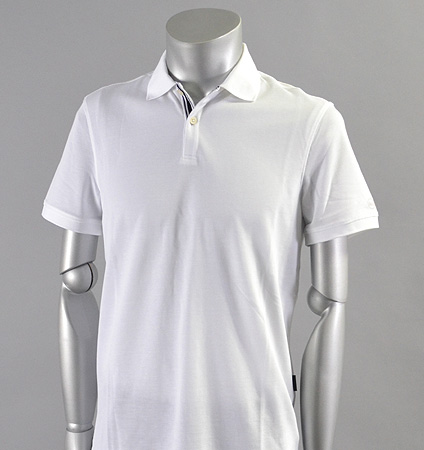 AG Green Label BERRIAN POLO BRIGHT WHITE