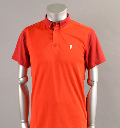 PeakPerformance G Orb Polo Racing Red