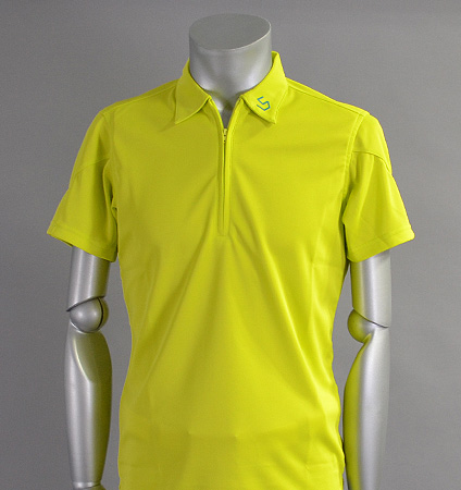 SGSHB-011 Zip Shirts Lime