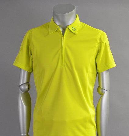 SGSHB-011 Zip Shirts Lime