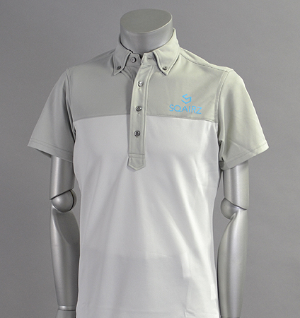 SQAIRZ SQSHB-08 Bi-Color Shirts Gray/White