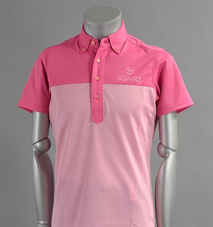 SQAIRZ SQSHB-08 Bi-Color Shirts Pink/Lt Pink