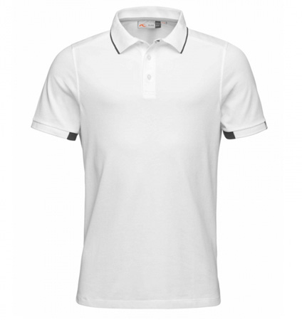 KJUS STAN POLO S/S White