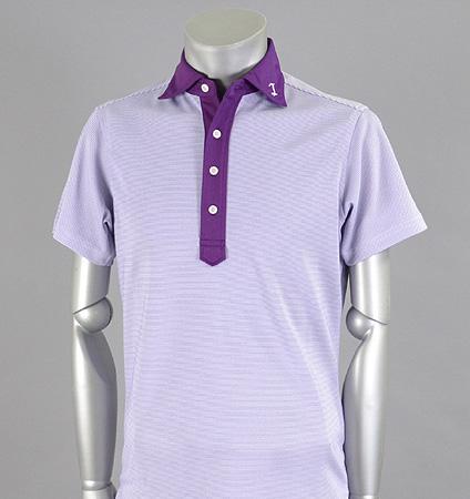 Tranvi TRSHB-020 Cleric Border Shirts Purple