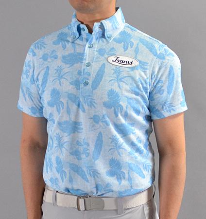 Tranvi TRSHB-027 BD Original Aloha Shirts Sax