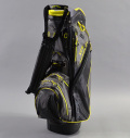 2017 Sun Mountain XCR Cart Bag Black/Gunmetal/Citron