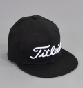 Titleist Flat Bill Cap Black