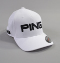 Ping P.Y.B. Tour Structured Cap White/Black