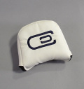 AM&E excors original Large Mallet Putter Cover White/Navy